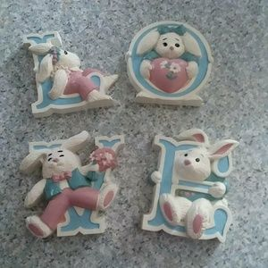 Love bunny Plaques